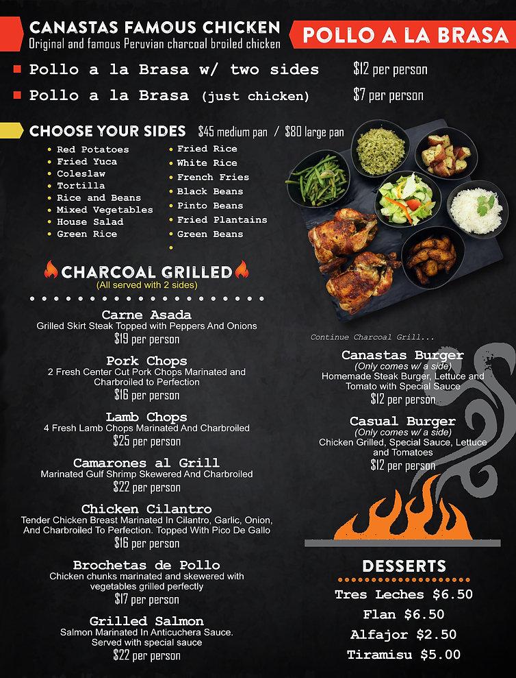 Pollo and Peruvian