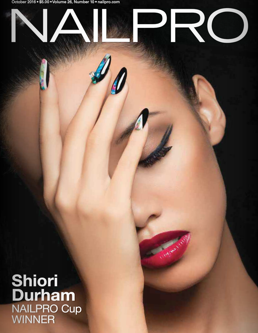 NAILPRO magazine 2016 October issue