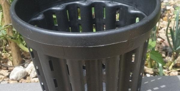 19cm x 17.5cm Round (net) propagation pot (Aquaponics, hydroponics, aquarium pla