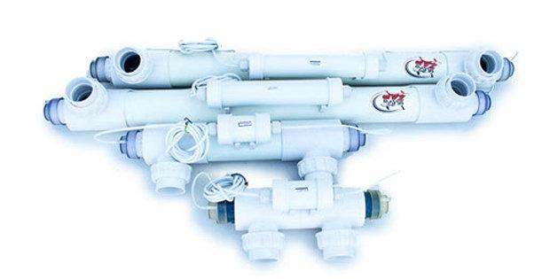 55 Watt U. V. Pond Capicity 50000 litres