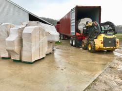 Unloading GS Shipment