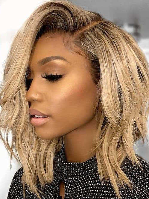 Admyhair Blonde Layered Bundle Set with 13 x 4 Lace Frontal