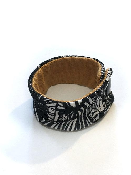 Bracelet Large jersey - Zèbre