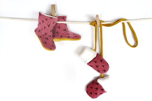 Chausson Moufles Clochette