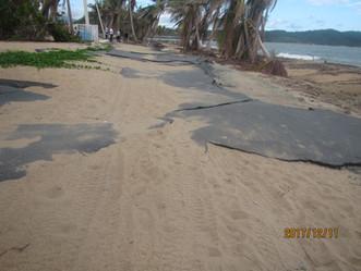 Huracanes elevan la erosión en las playas