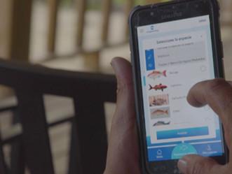 DRNA con aplicación móvil a beneficio de pescadores