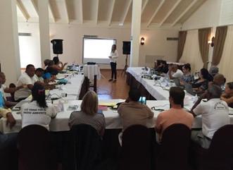 Capacitan a personal en manejo de áreas marinas protegidas del Caribe