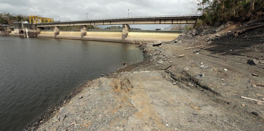Períodos de sequía más extremos y recurrentes también se atribuyen al cambio climático. En la foto, el lago La Plata en la sequía de 2015. (GFR Media)