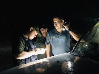 Cuerpo de Vigilantes del DRNA realiza operativo en Vieques