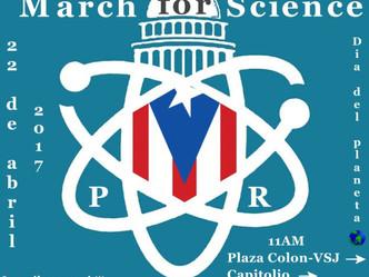 Puerto Rico se une a la Marcha por la Ciencia