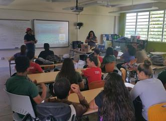 Ofrecen taller de restauración de arrecifes en escuela PES de Río Grande