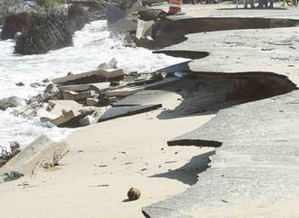 Discuten la erosión costera ante el cambio climático