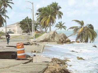 Se agrava la erosión costera en Puerto Rico