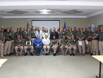 Recursos Naturales reconoce al Cuerpo de Vigilantes en su semana