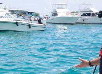 Recursos Naturales realiza operativo para orientar sobre seguridad acuática