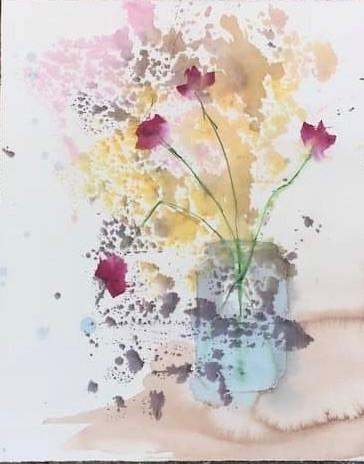 Lathyrus i vase
