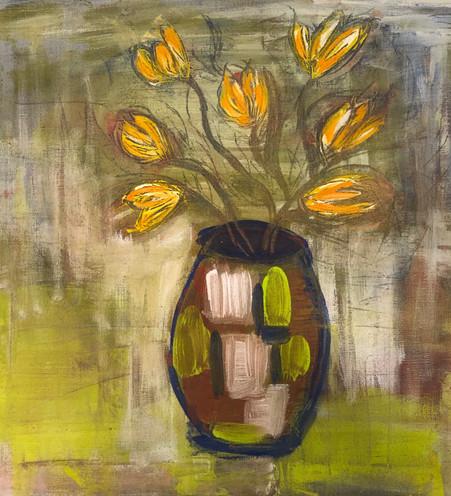 Tulipaner i vase