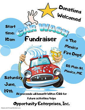 Car wash Fundraiser - Made with PosterMy