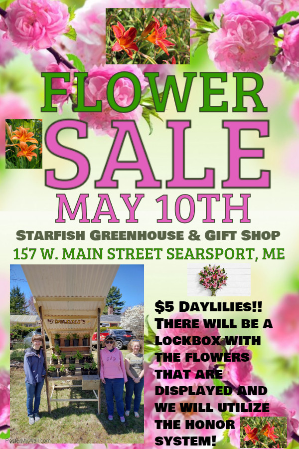 Flower Sale Fundraiser 2019