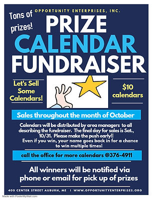 Prize Calendar Fundraiser-social media p
