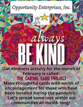February Kindness Activity - Made with P