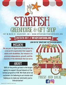 starfish greenhouse  gift shop - Made wi
