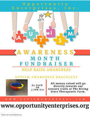 Autism Awareness Month Fundraiser - Made