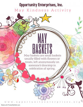May Kindness Activity - Made with Poster