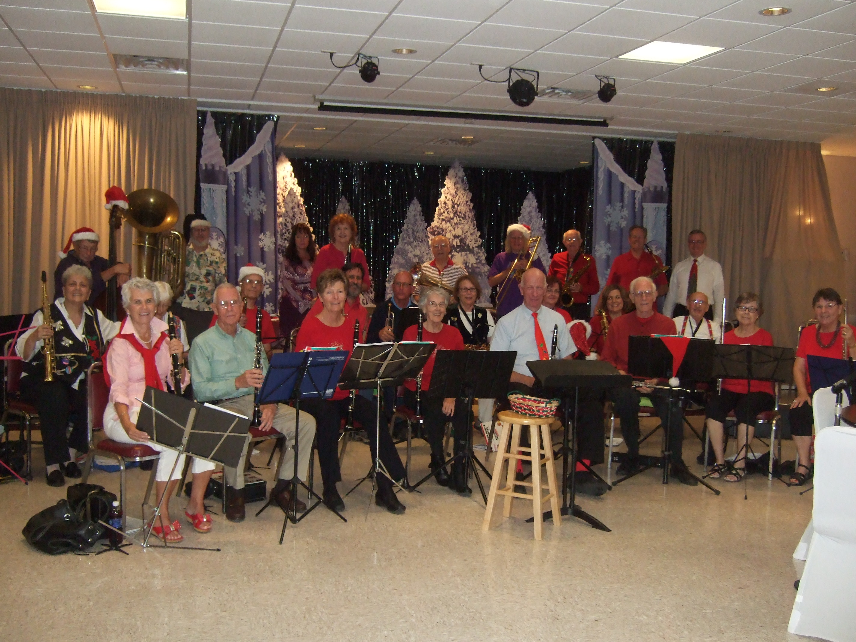 NHB Band at Christmas