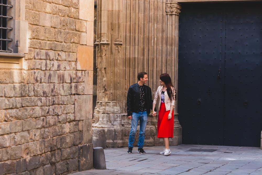 COUPLE PHOTOSHOOT TOUR, BARCELONA