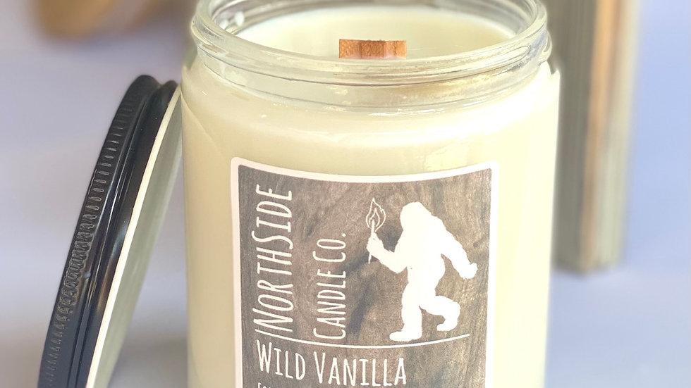 Wild Vanilla - 8 oz. jar w/ lid