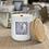 Thumbnail: 8 oz . White Ceramic Jar