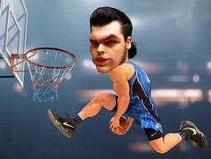 Digitális karikatúra - BasketB