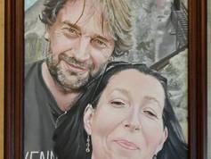 Olaj portré - Együtt