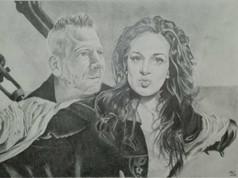Grafit portré - Titanic 2.0