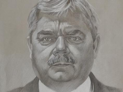 Grafit portré - A főnök