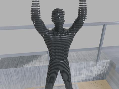Space sculpture - Steel sculpture_4