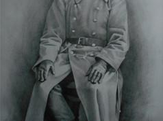 Grafit portré - Katonatiszt