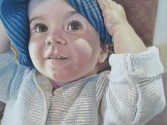 Pasztell portré - Edie