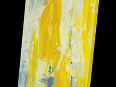 Absztrakt olajfestmény