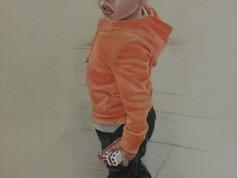 Pasztell portré - Kisfiú 1