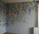 HJ Art Studio_dekorációs falfestés