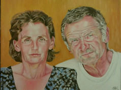 Olaj portré - Régi vágású