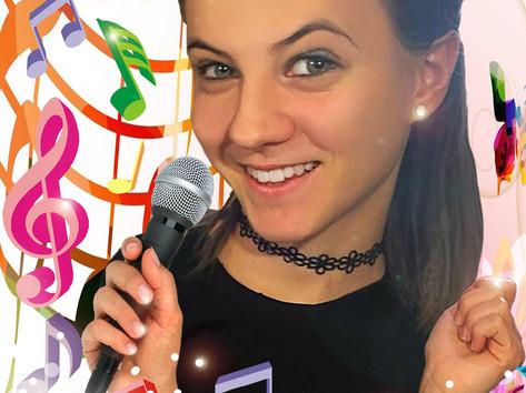 Digitális karikatúra - Singing
