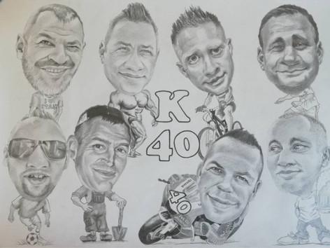 Grafit karikatúra - K40