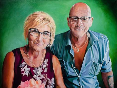 Olaj portré - Van Den Hoek
