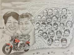 Grafit karikatúra - 8 osztály