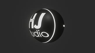 HJ Art Studio_3D LOGO