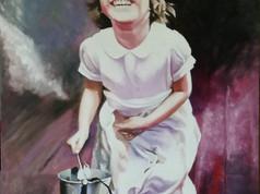 Olaj portré - Impresszionista