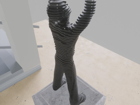 Space sculpture - Steel sculpture_1